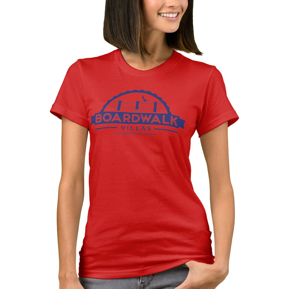 Disney Vacation Club BoardWalk Villas T-Shirt for Women  Customizable