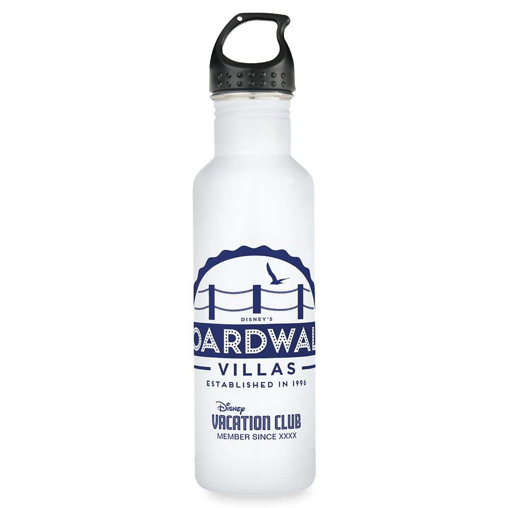 Disney Vacation Club BoardWalk Villas Water Bottle  Customizable