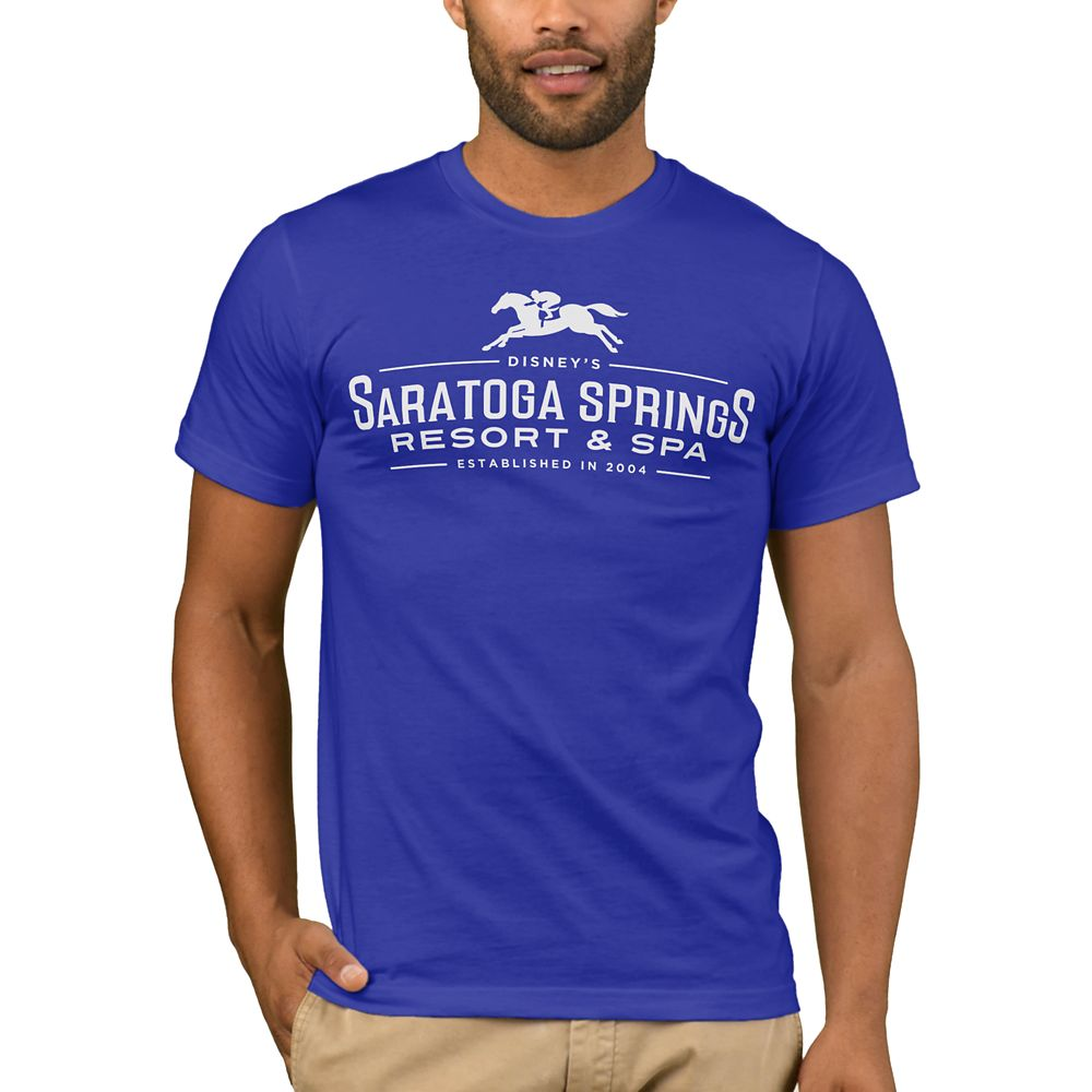 Disney Vacation Club Saratoga Springs Resort & Spa T-Shirt for Men – Customizable
