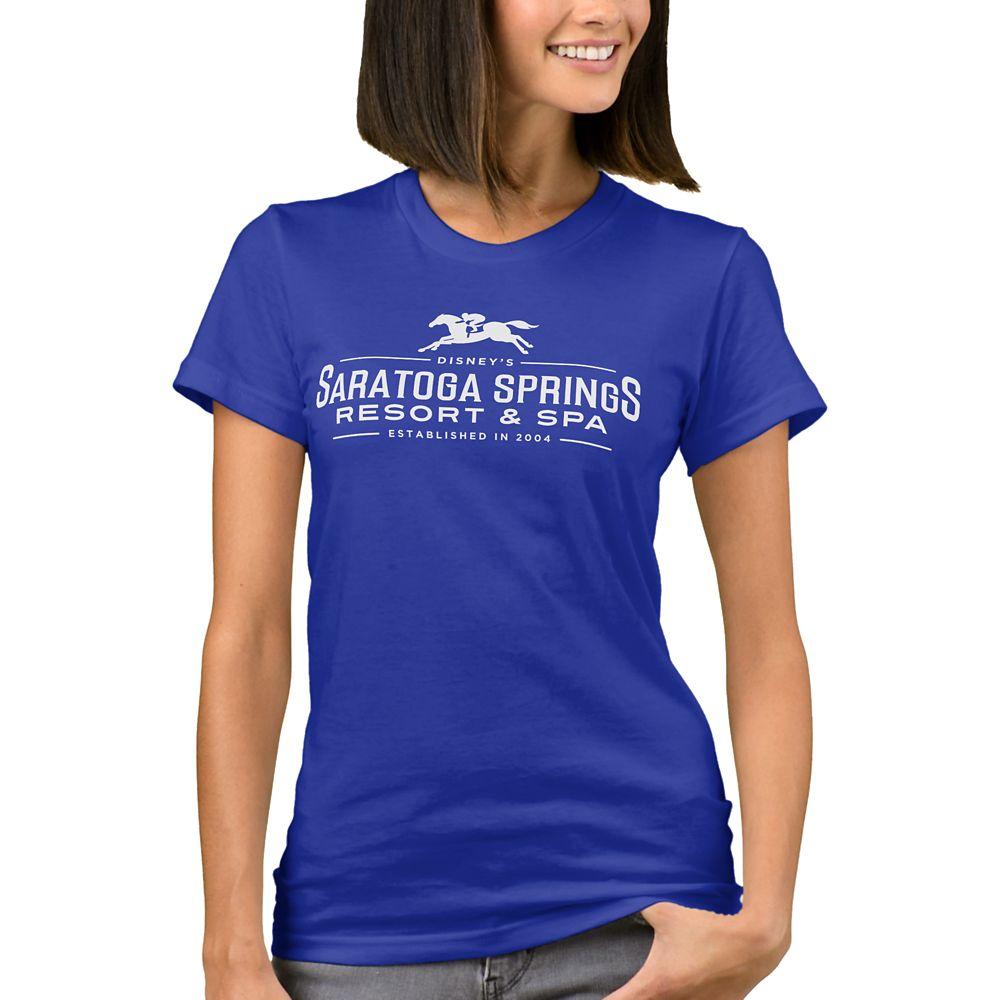 Disney Vacation Club Saratoga Springs Resort & Spa T-Shirt for Women – Customizable