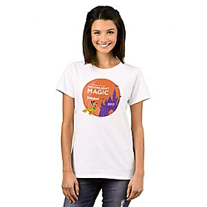Pluto T-Shirt for Women - Disney Vacation Club Moonlight Magic - Disneyland - Customizable