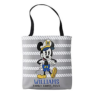 Mickey Mouse Tote Bag - Customizable - Disney Cruise Line