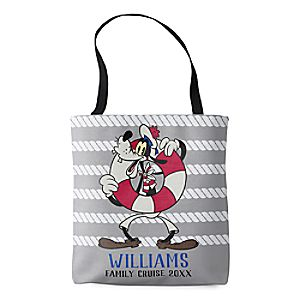 Goofy Tote Bag - Customizable - Disney Cruise Line