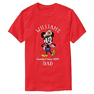 Mickey Mouse T-Shirt for Adults - Customizable - Disney Cruise Line