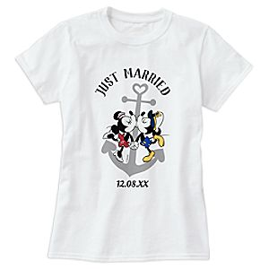 Mickey and Minnie Mouse T-Shirt for Adults - Customizable - Disney Cruise Line