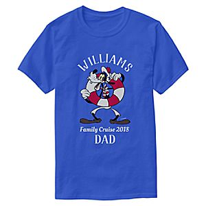 Goofy T-Shirt for Adults - Customizable - Disney Cruise Line