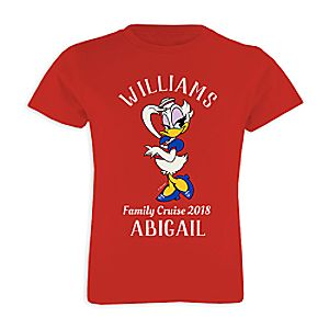 Daisy Duck T-Shirt for Kids - Customizable - Disney Cruise Line