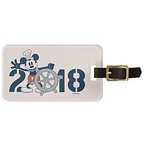 Mickey Mouse Ship Luggage Tag - Customizable - Disney Cruise Line