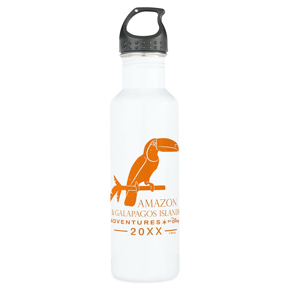 Adventures by Disney Amazon and Galapagos Islands Stainless Steel Water Bottle – Customizable