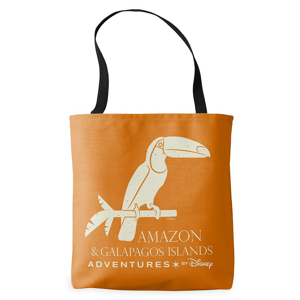 shopdisney.com - Adventures by Disney Amazon and Galapagos Islands Tote Bag  Customizable 19.95 USD