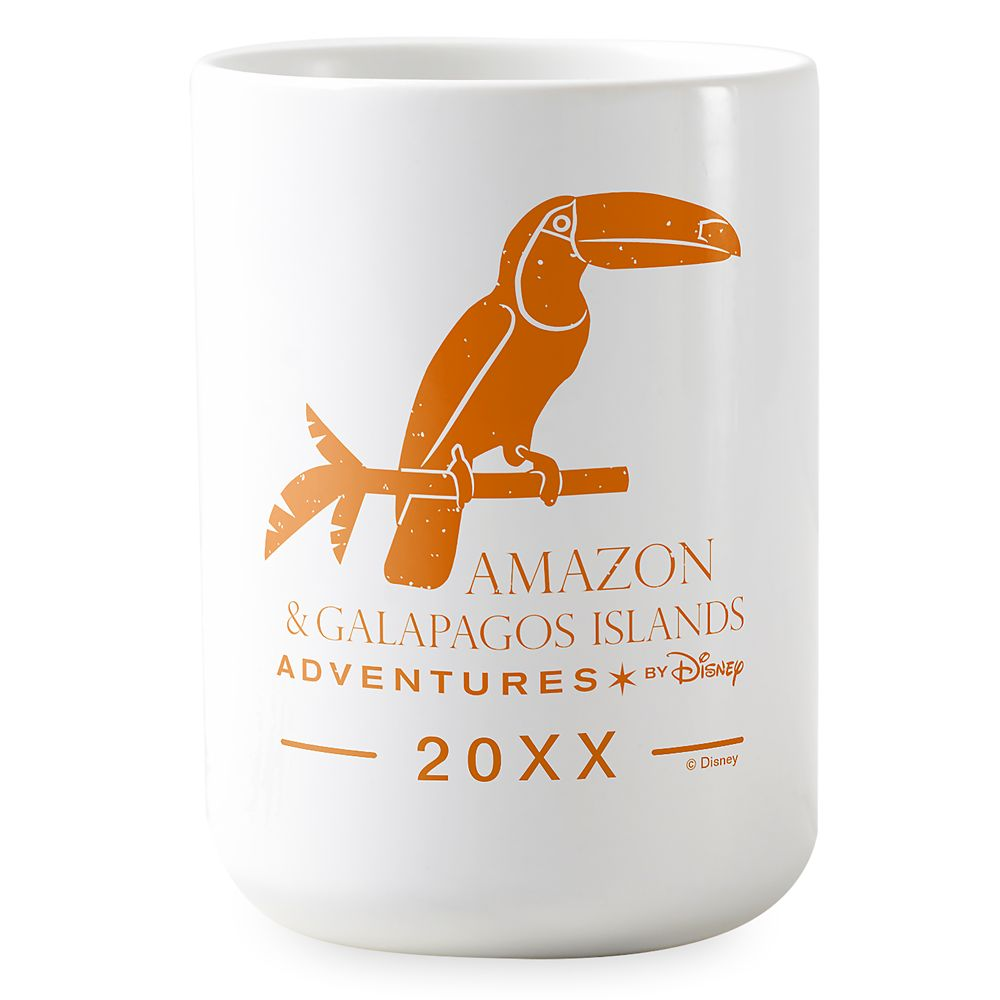 Adventures by Disney Amazon and Galapagos Islands Coffee Mug  Customizable
