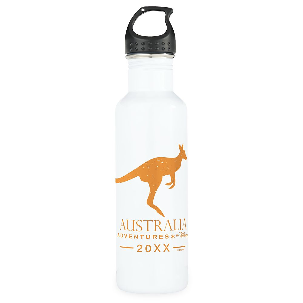 Adventures by Disney Australia Kangaroo Stainless Steel Water Bottle  Customizable