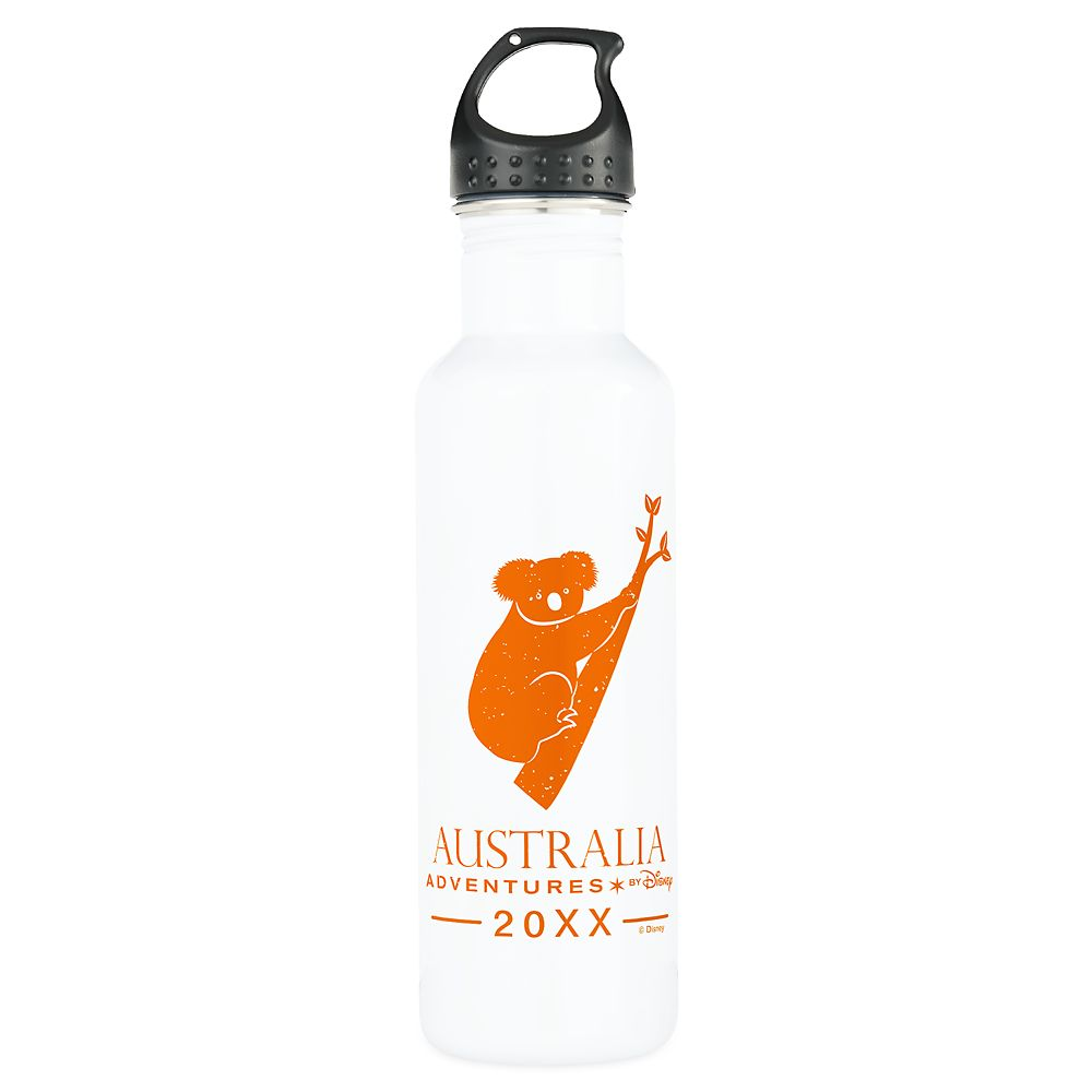Adventures by Disney Australia Koala Stainless Steel Water Bottle  Customizable