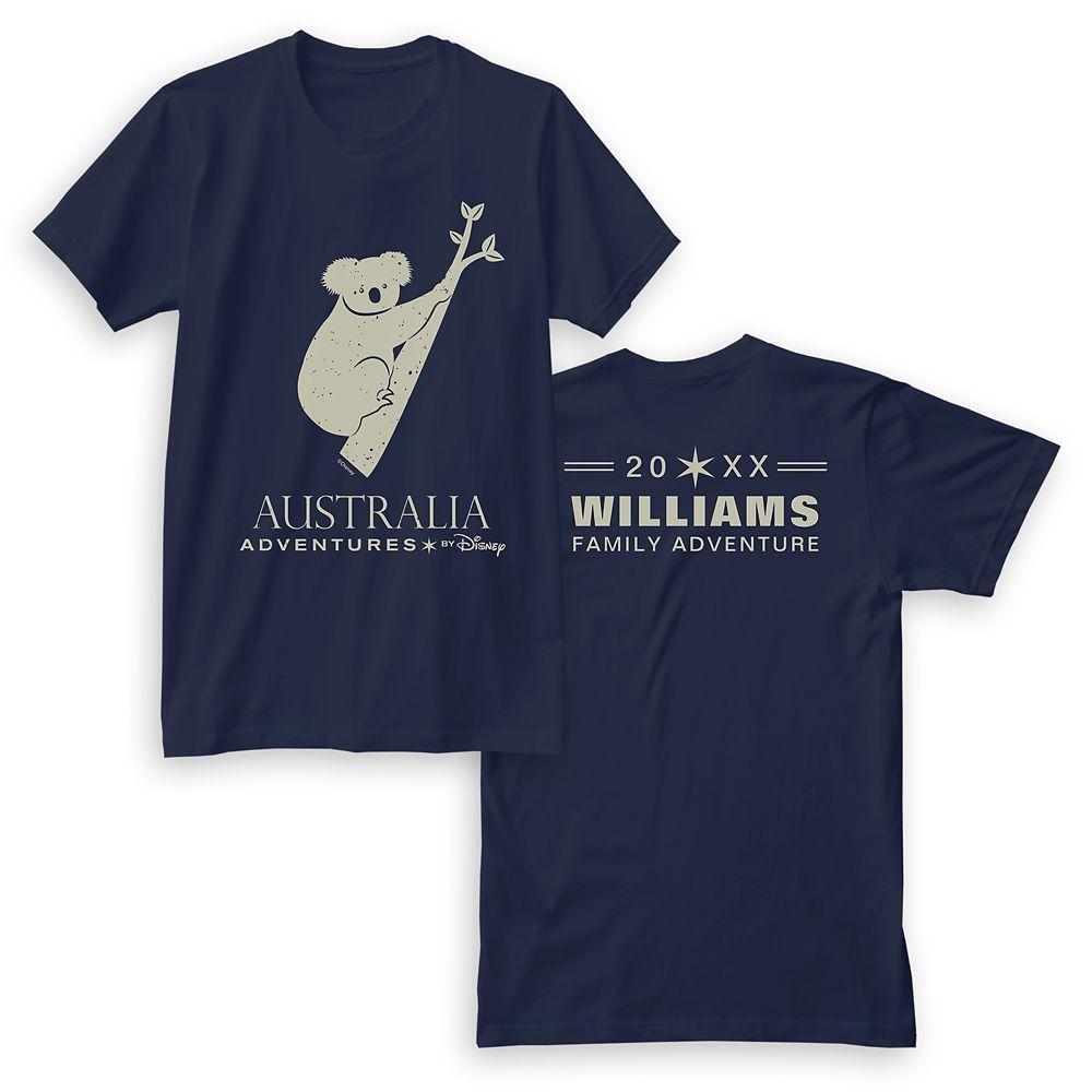 Adventures by Disney Australia Koala T-Shirt for Men  Customizable