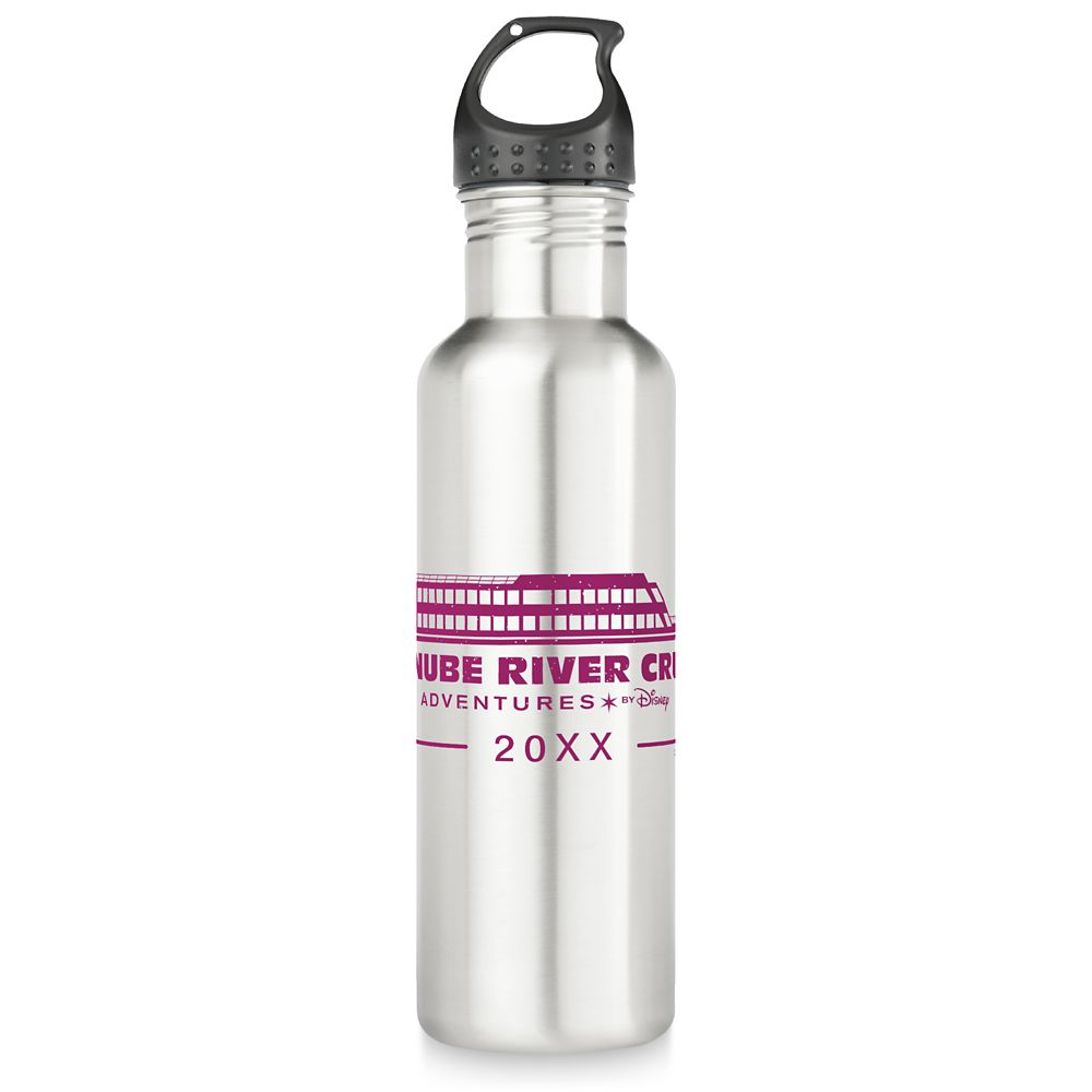 Adventures by Disney Danube River Cruise Stainless Steel Water Bottle  Customizable