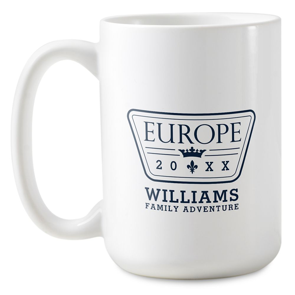 Adventures by Disney Europe Family Adventure Coffee Mug  Customizable