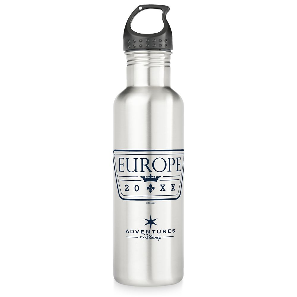Adventures by Disney Europe Family Adventure Stainless Steel Water Bottle  Customizable