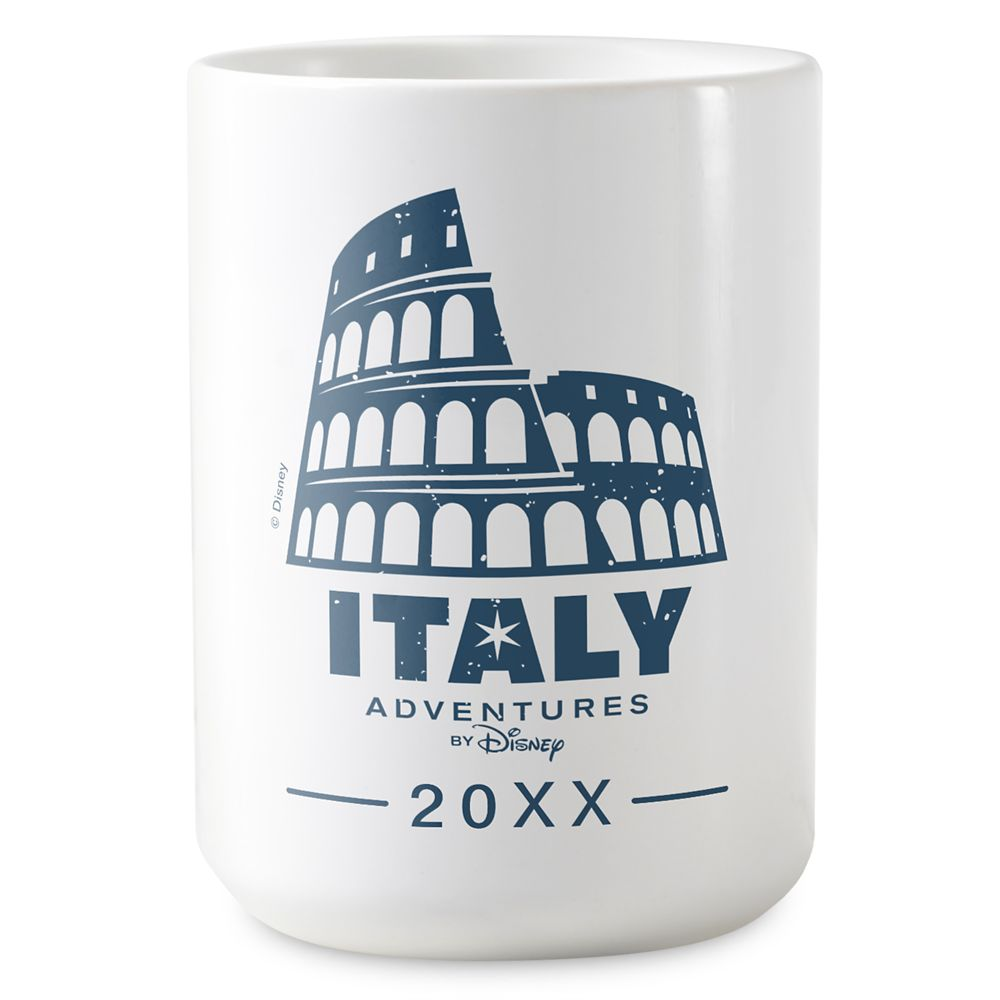 shopdisney.com - Adventures by Disney Italy Coffee Mug  Customizable 16.95 USD