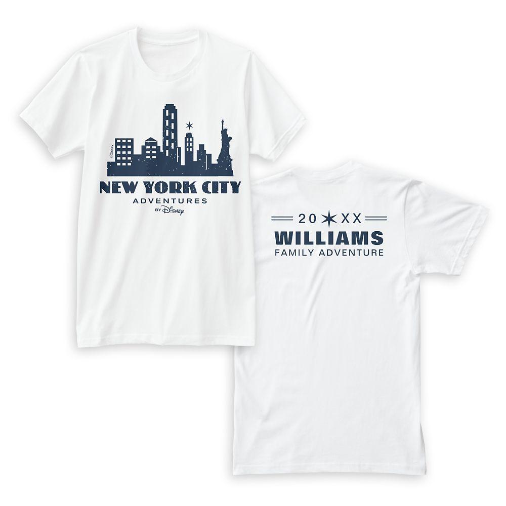 Adventures by Disney New York City T-Shirt for Women – Customizable
