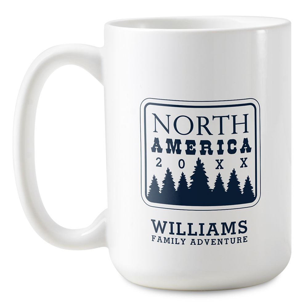 Adventures by Disney North America Family Adventure Coffee Mug  Customizable