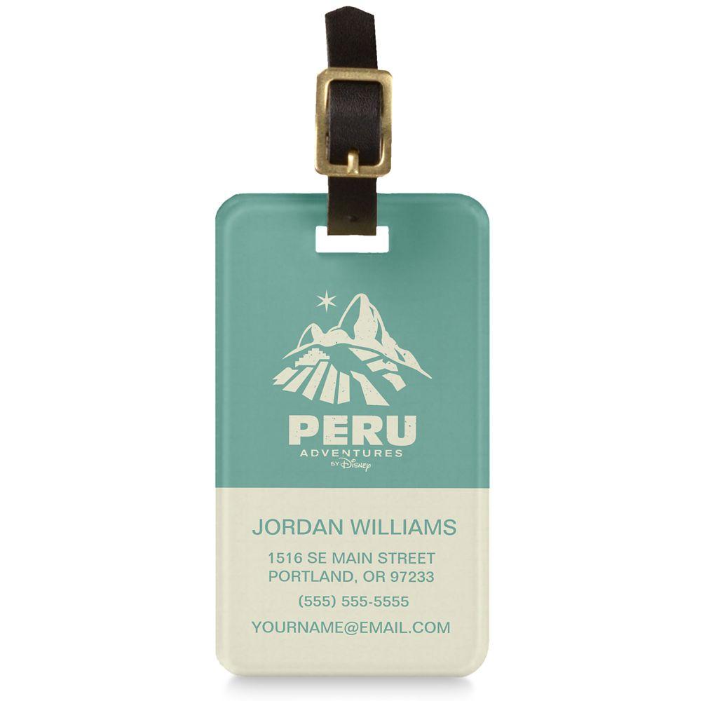 Adventures by Disney Peru Luggage Tag  Customizable
