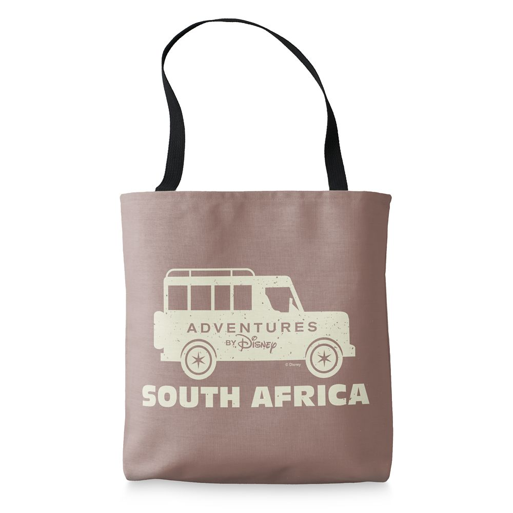 shopdisney.com - Adventures by Disney South Africa Tote Bag  Customizable 19.95 USD