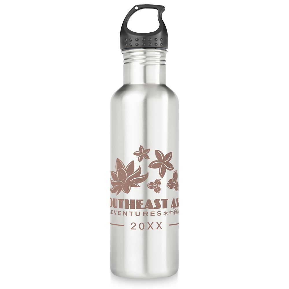 Adventures by Disney Southeast Asia Stainless Steel Water Bottle – Customizable