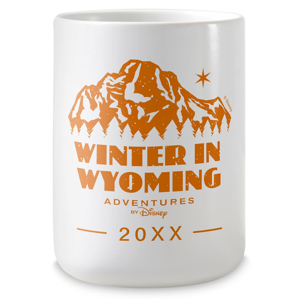 Adventures by Disney Winter in Wyoming Coffee Mug – Customizable
