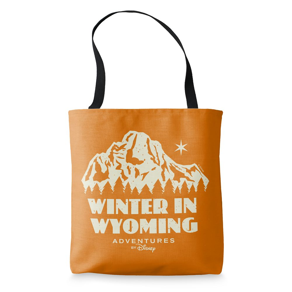 Adventures by Disney Winter in Wyoming Tote Bag  Customizable