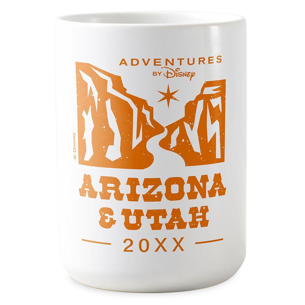 shopdisney.com - Adventures by Disney Arizona Mug  Customizable 16.95 USD