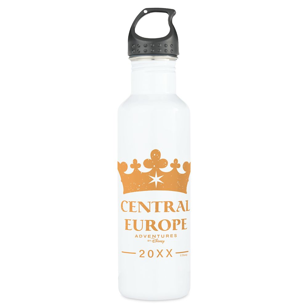 shopdisney.com - Adventures by Disney Central Europe Water Bottle  Customizable 24.95 USD