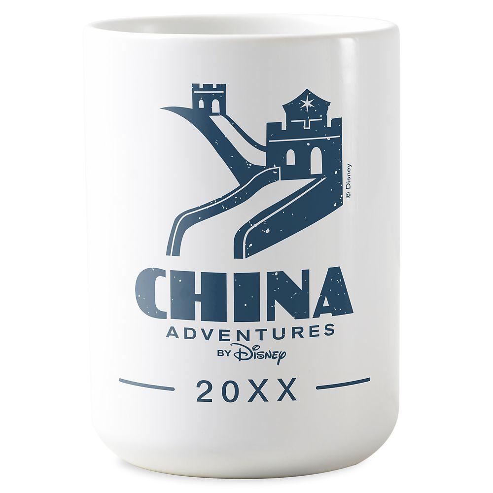 shopdisney.com - Adventures by Disney China Mug  Customizable 16.95 USD