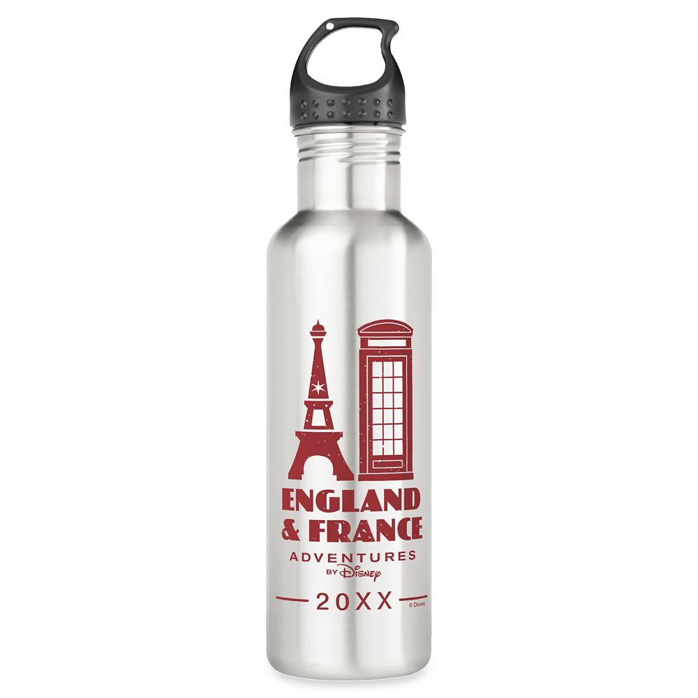 Adventures by Disney England & France Water Bottle – Customizable