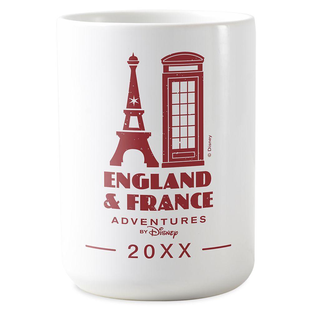 Adventures by Disney England & France Mug – Customizable