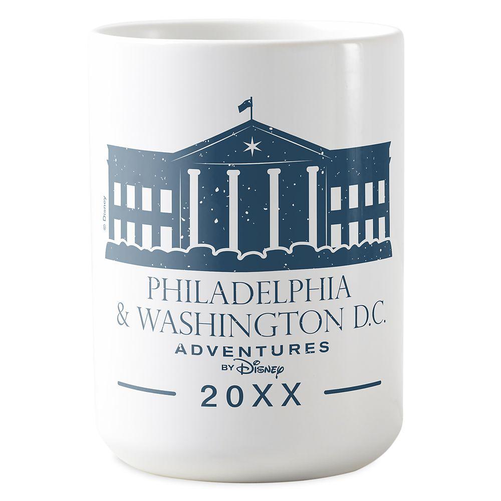 Adventures by Disney Philadelphia & Washington D.C. Mug – Customizable