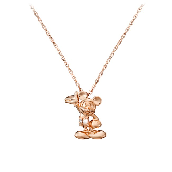 Mickey Mouse Necklace – Diamond and 14K