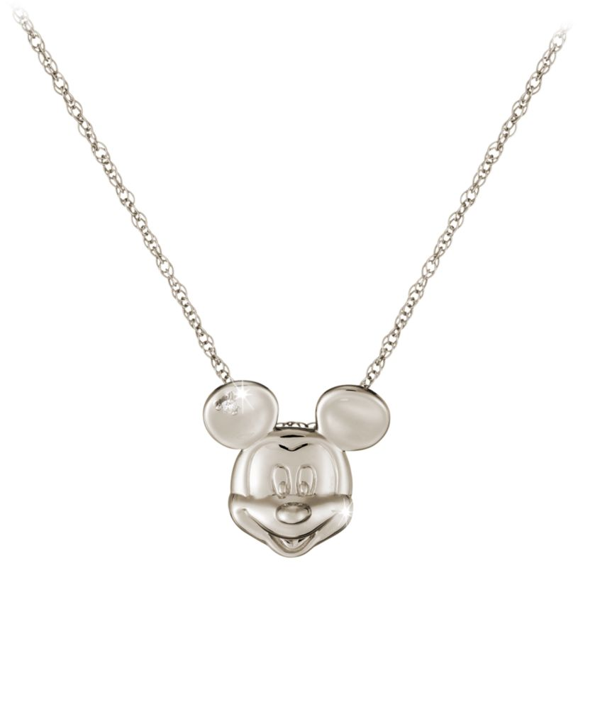 Mickey Mouse Diamond Necklace – 18 Karat