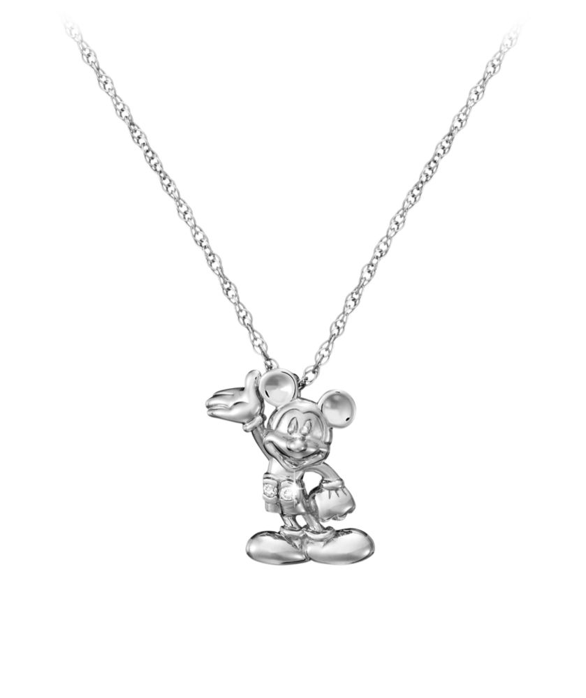 Mickey Mouse Necklace  Mickey Figure Official shopDisney