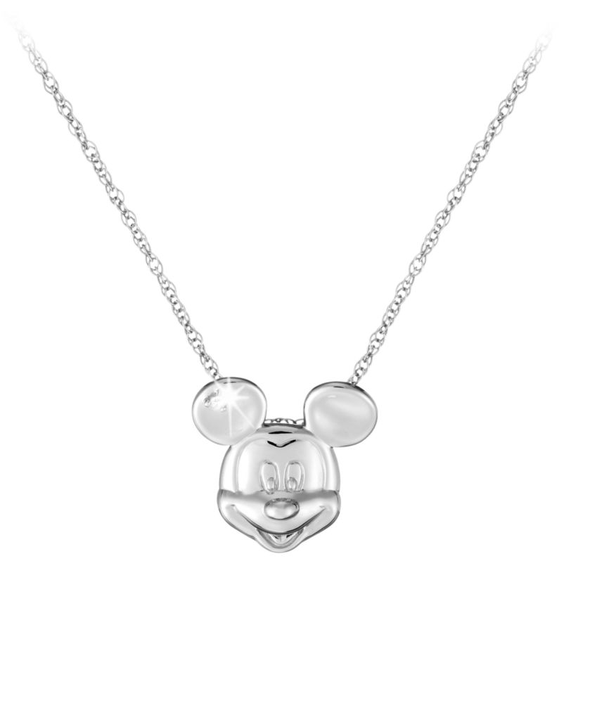 Mickey Mouse Necklace  Mickey Face Official shopDisney