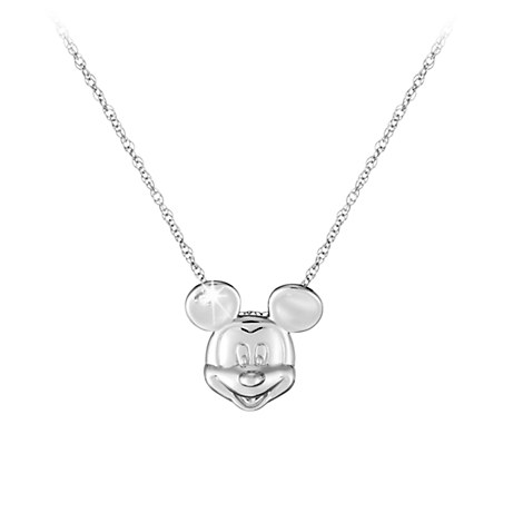 Mickey Mouse Necklace - Mickey Face