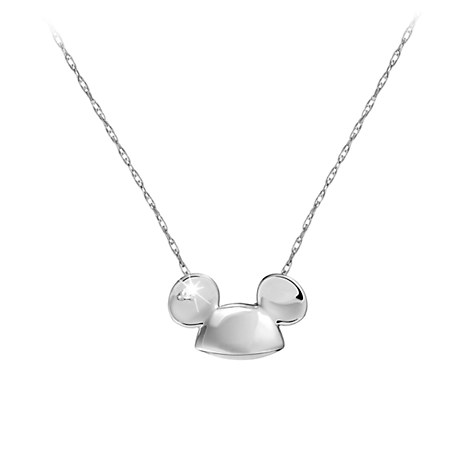 Mickey Mouse Ears Necklace