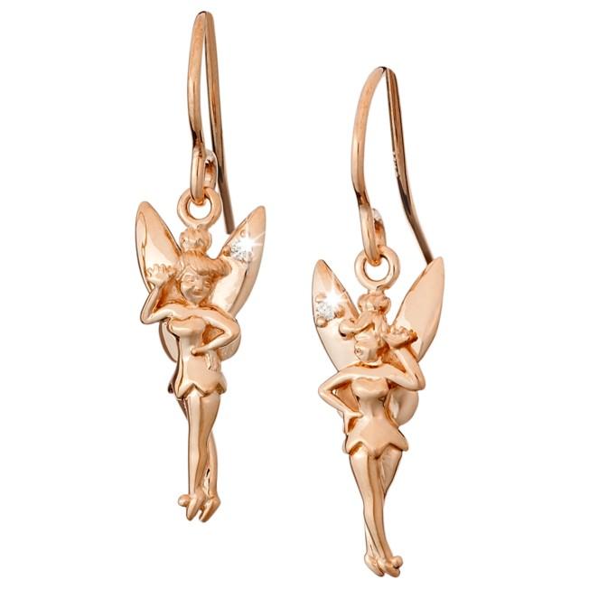 Tinker Bell Diamond Earrings – 14K