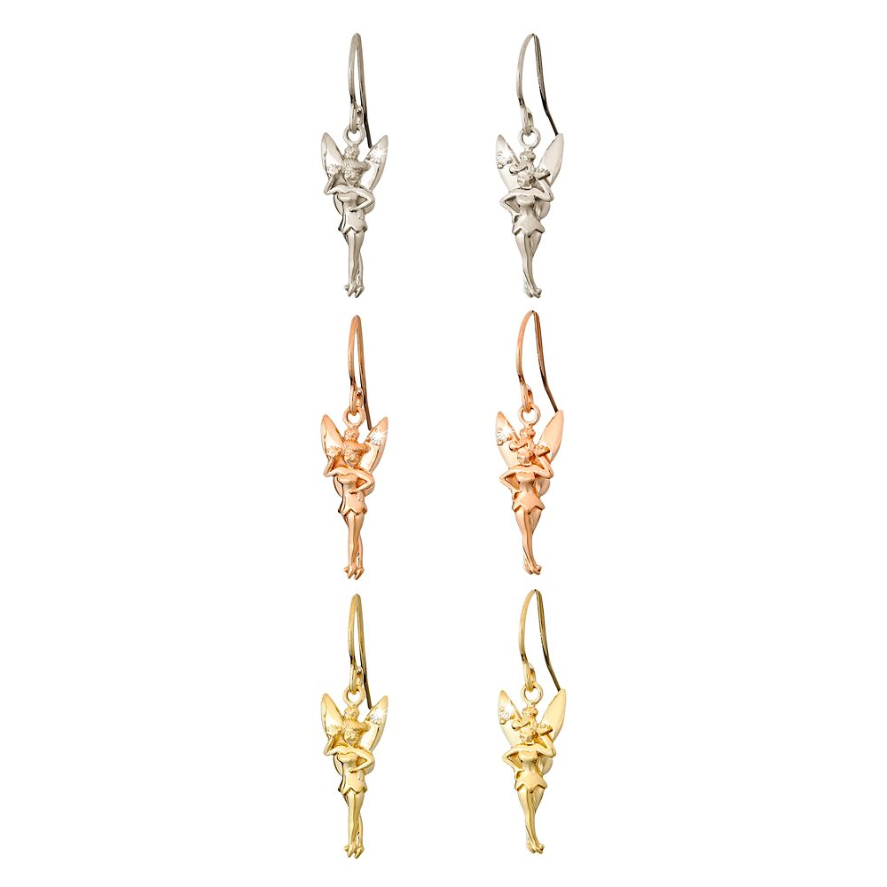 Tinker Bell Diamond Earrings – 18K