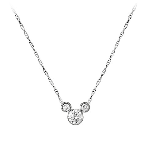 Mickey Mouse Necklace - Medium