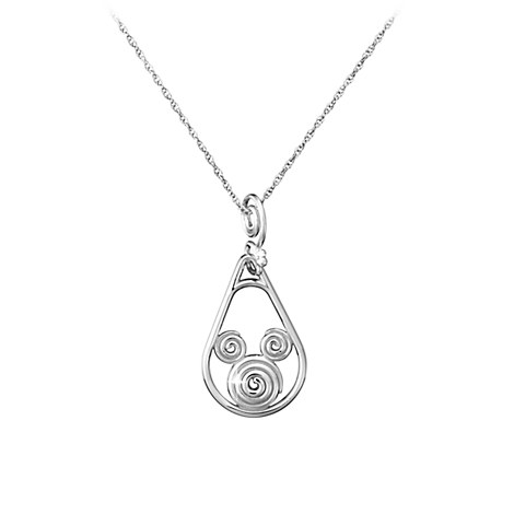 Mickey Mouse Necklace - Mickey Swirl