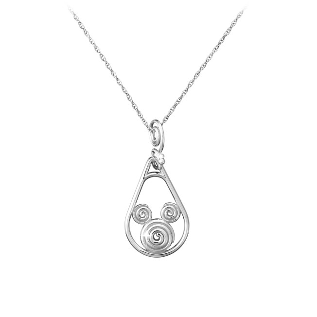 Mickey Mouse Necklace – Mickey Swirl