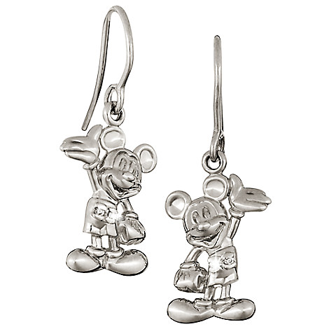 Mickey Mouse Figure Earrings