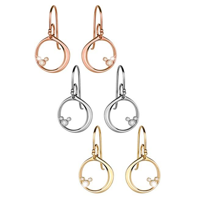 Mickey Mouse Diamond Earrings