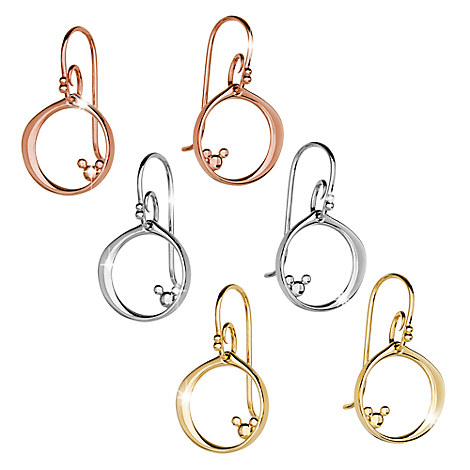 Mickey Mouse Hoop Earrings