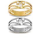 Mickey Mouse Icon Diamond Ring for Women